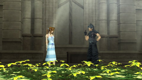 Zack Asking Aerith Out On A Date As Repayment For Waking Him Up.