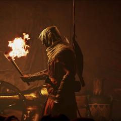 Ноктис и Ардин в трейлере <i>Assassin's Creed Origins</i>.