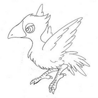 Black Chocobo sketch