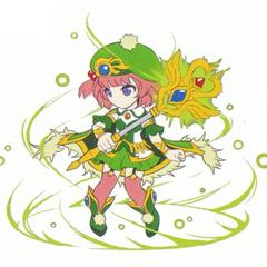 Marie's sprite concept artwork.