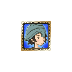 Hume Fighter icon in <i>Final Fantasy Tactics S</i>.