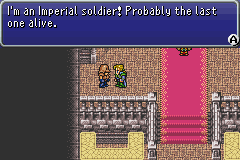FFVI GBA Soldier in Colloseum