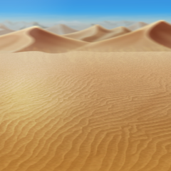 Battle background for a desert in the <a href=