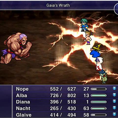 Gaia's Wrath.