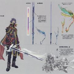 Kurasame's Boreal Blade.