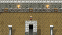 TAY PSP Edward's Challenge Dungeon - Lobby 1F