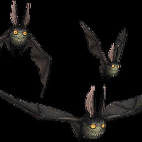 A bat trio.