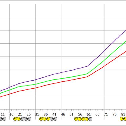 Ceratoraptor development chart.