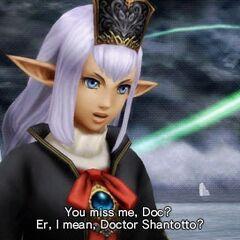 Прише разговаривает с Шантототто.