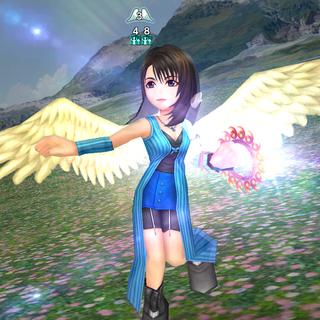 Rinoa's Angel Wings.