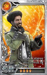 FF13 Sazh Katzroy SR F Artniks