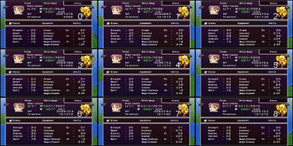 FFIV PSP Porom Level Up Possibilities