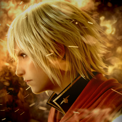 Promotional image of Ace for <i>Final Fantasy Type-0 HD</i>.