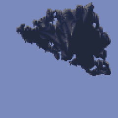 The Floating Continent rises (SNES).
