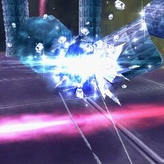 Blizzara used by Tifa in <i><a href=