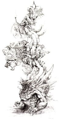 Tower of gods ffvi concept art
