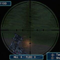 Sniper minigame in <i><a href=