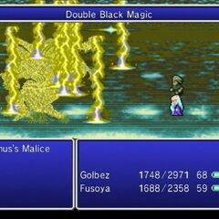 Double Black Magic Thundaga in <i>The After Years</i> (Wii).