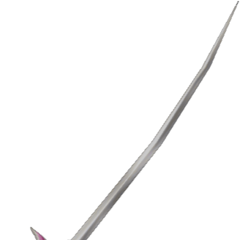 Terra's sword from <i>Dissidia</i>, which can be seen in various Amano Artworks of her.