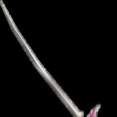 Меч Терры из <i>Dissidia</i>, присутствующий на многих рисунках Амано.