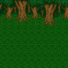 Battle background (Goblin battle) (SNES).