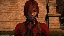 FFXIV Arya red hair