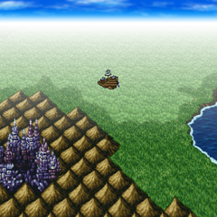 Pandemonium on the world map (PSP).