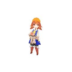 Refia's battle model.