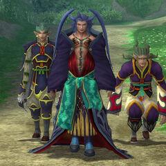 Seymour and his Guado guards.