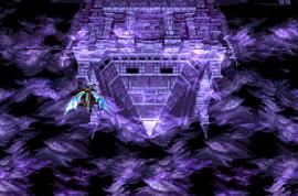Der Drache im Inneren des Wirbelsturms