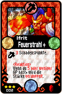 002 Ifrit Feuerstrahl+ Pop-Up
