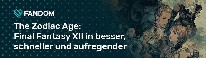 Final Fantasy XII The Zodiac Age Blog Header