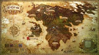 Eorzea Karte