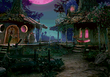 Dorf der Schwarzmagier Nacht