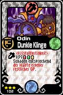102 Odin Dunkle Klinge Pop-Up