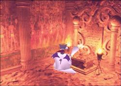 Cait Sith aktiviert den Tempel