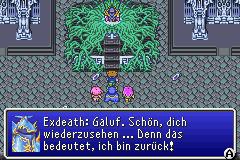Exdeath begrüßt Galuf