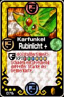 076 Karfunkel Rubinlicht+ Pop-Up