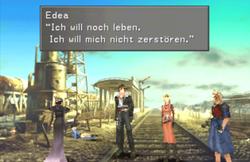 (FFVIII) Edea möchte nach Esthar