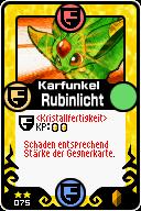 075 Karfunkel Rubinlicht Pop-Up