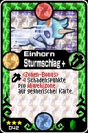 042 Einhorn Sturmschlag+ Pop-Up