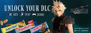 Butterfinger Final Fantasy VII Remake Werbeaktion