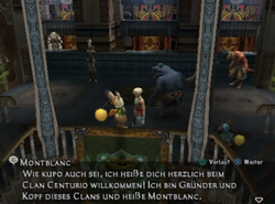 Clan Centurio Hauptquartier