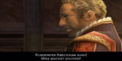 Cid begrüßt Balthier