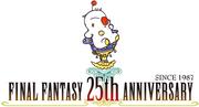 Final Fantasy 25th Anniversay Logo