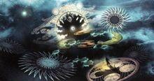 Kosmogenesis Konzeptzeichnung LRFFXIII