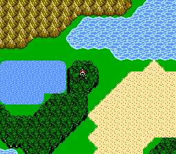 Chocobo Wald FFIII NES7