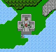 Cids Luftschiff FFII NES