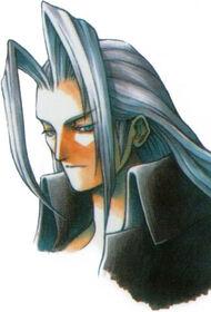 Sephiroth Portrait FFVII