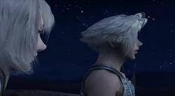 Vaan und Ashe im Mondlicht